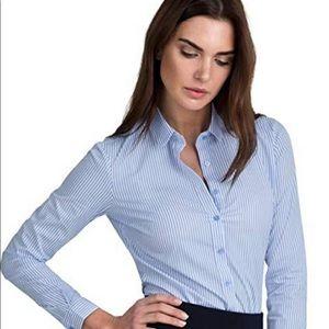 Gap tailored shirt long sleeve career wear